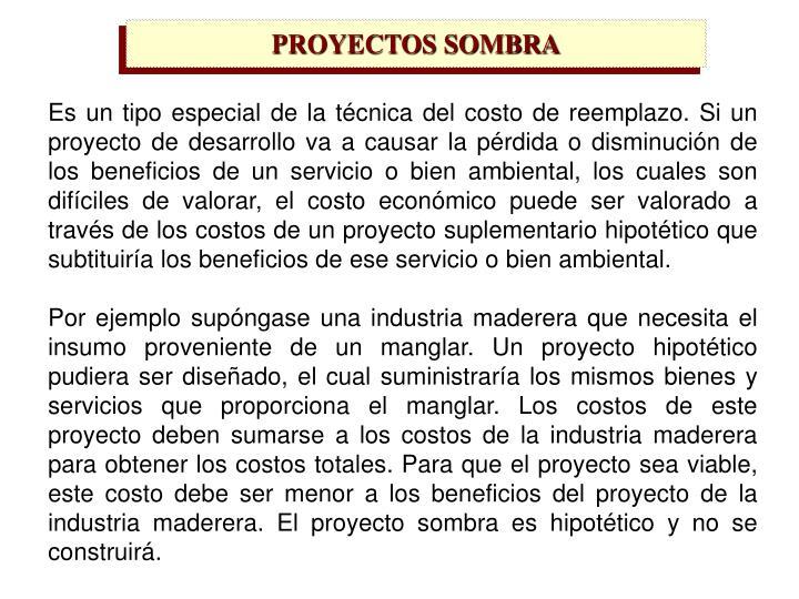 PROYECTOS SOMBRA