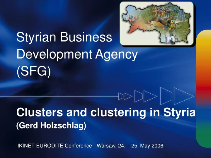 styrian business development agency sfg n.