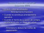 decreto 32876 h del 06 de diciembre 2005