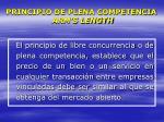 principio de plena competencia arm s length