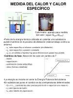 medida del calor y calor espec fico1