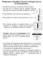 temperatura y equilibrio t rmico principio cero de la termodin mica