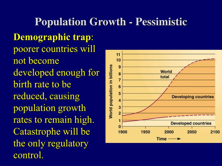Population Growth - Pessimistic