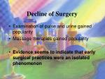 decline of surgery1