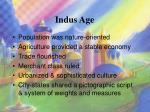 indus age