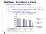 resultados orientaci n al cliente1