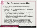 arc consistency algorithm
