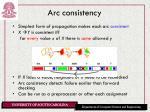 arc consistency4
