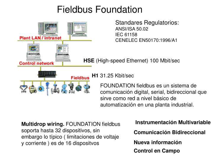 fieldbus foundation n.
