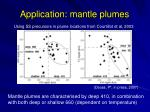 application mantle plumes1