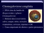 citomegalovirose cong nita