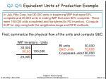 q2 q4 equivalent units of production example