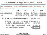 q6 process costing example with ti costs2