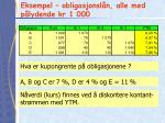 eksempel obligasjonsl n alle med p lydende kr 1 000