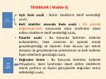 tanimlar madde 43