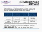 licenciamiento de software