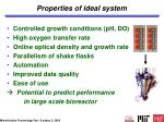 properties of ideal system