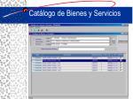 cat logo de bienes y servicios
