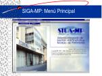 siga mp men principal