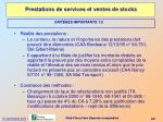 prestations de services et ventes de stocks2