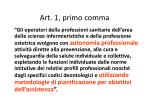 art 1 primo comma