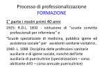 processo di professionalizzazione formazione