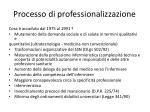 processo di professionalizzazione9