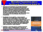 mercados financeiros para a certifica o profissional anbid 10
