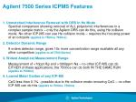agilent 7500 series icpms features