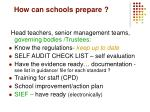 how can schools prepare