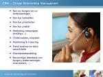 crm citizen relationship management