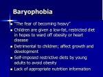 baryophobia