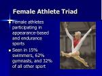 female athlete triad1