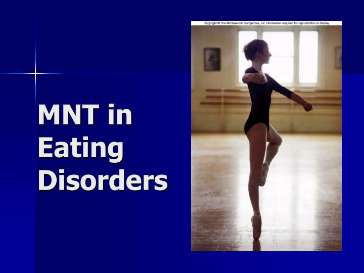 mnt in eating disorders n.