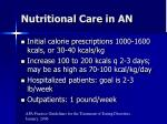 nutritional care in an1