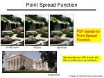 point spread function1