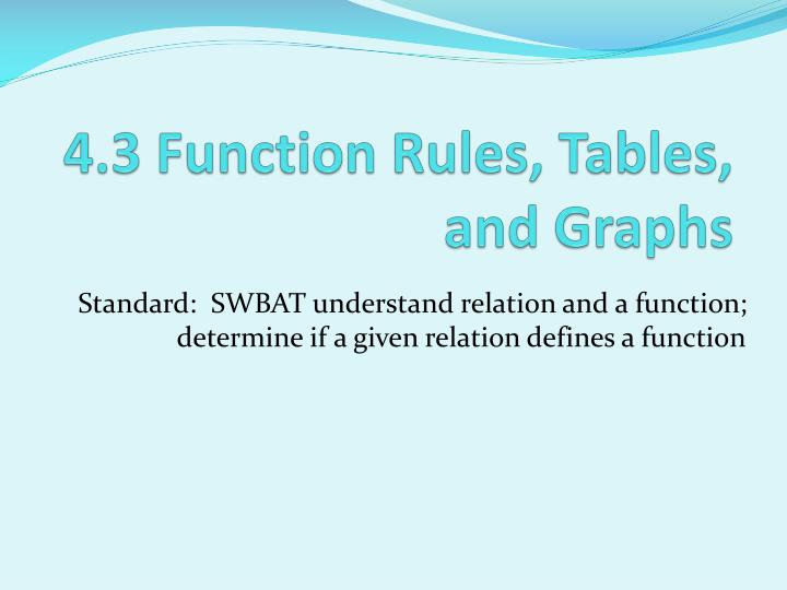 4 3 function rules tables and graphs n.