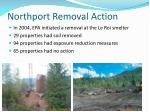 northport removal action