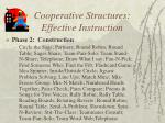 cooperative structures effective instruction1