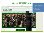 go to phs website