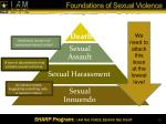 foundations of sexual violence