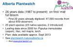 alberta plantwatch