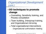 organizational development cont1