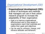 organizational development od