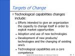 targets of change2
