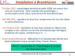 installation brookhaven