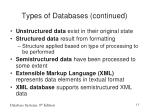 types of databases continued1