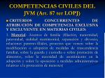 competencias civiles del jvm art 87 ter lopj