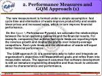 2 performance measures and gqm approach 1