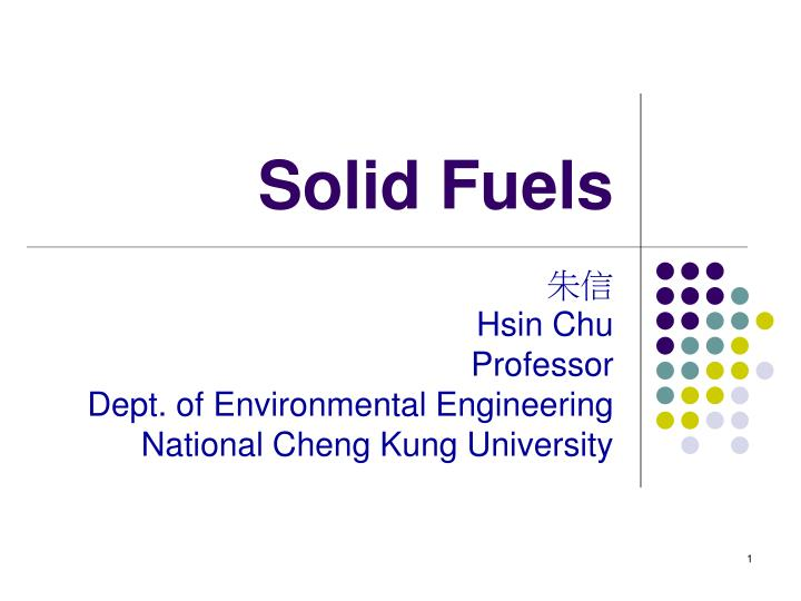 solid fuels n.